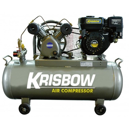 KRISBOW Gasoline Compressor 3Hp [KW1300351] - Kompresor Angin